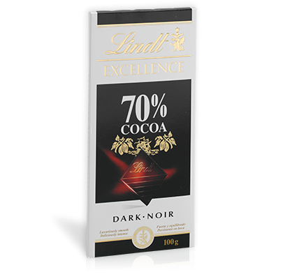 Exellence lindt 70 procentig choklad