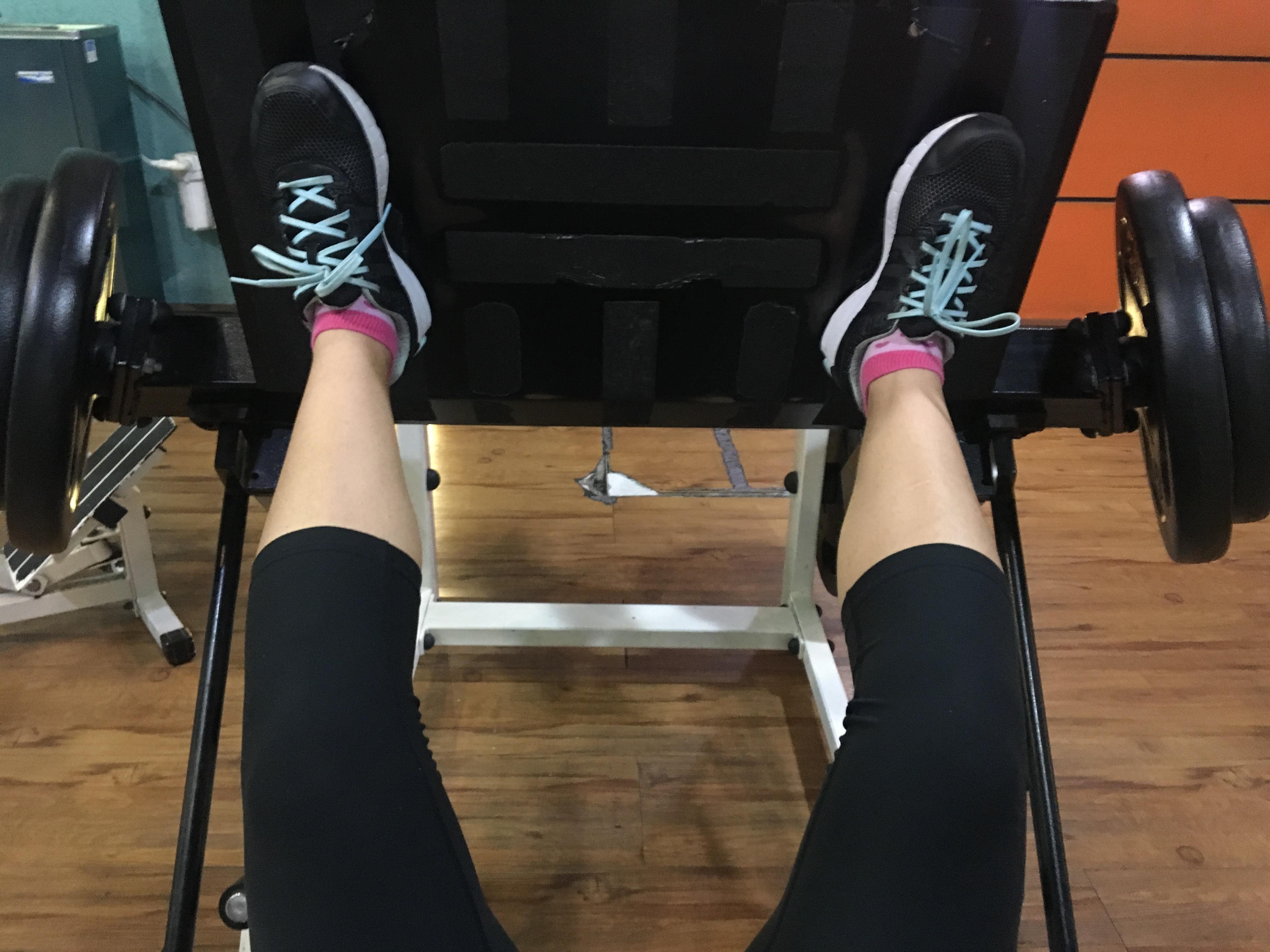 Få snygga ben övningar gym
