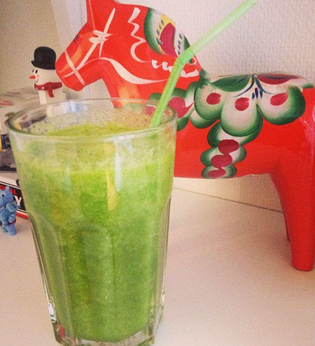 Recept på green juice detox