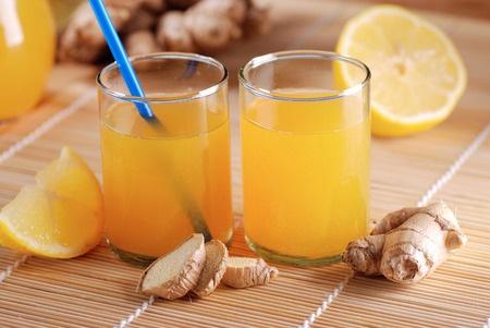 Juice shot recept med ingefära och citron