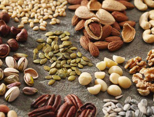 Lista över de nötter som innehåller mest protein