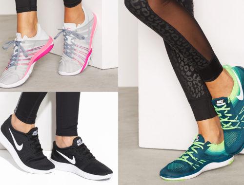 Nike Free springskor i olika färger