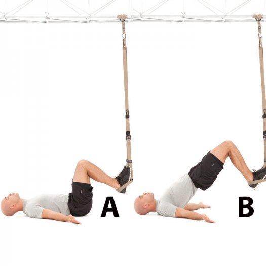 TRX övning höftlyft