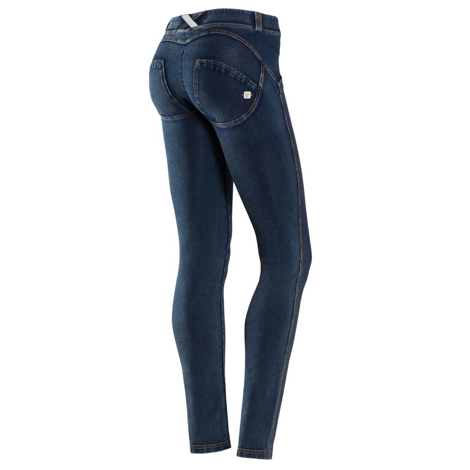 Mörka Freddy Wr up skinny jeans byxor