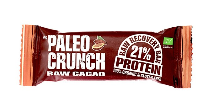 Paleo crunch proteinbar utan sötningsmedel