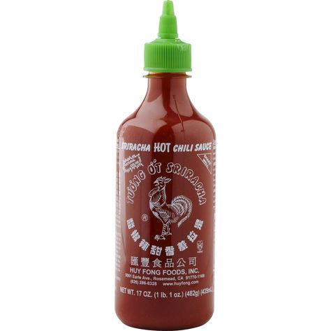 Sriracha hot chili sause chilisås