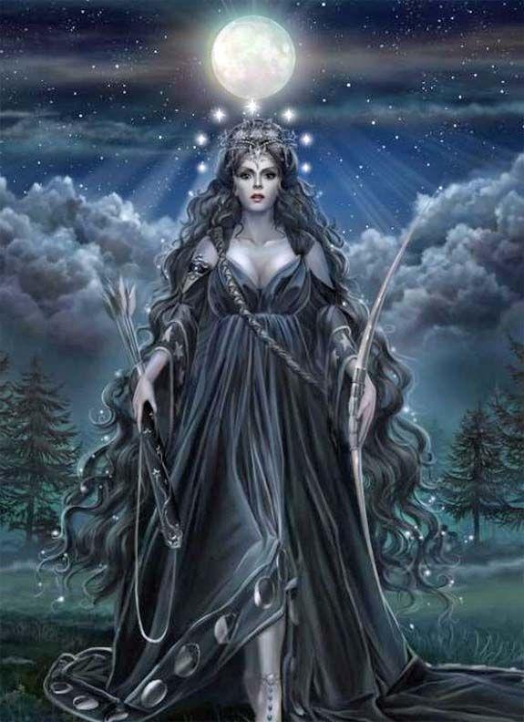 Gudinna, bli trygg i sig själv, självkänsla