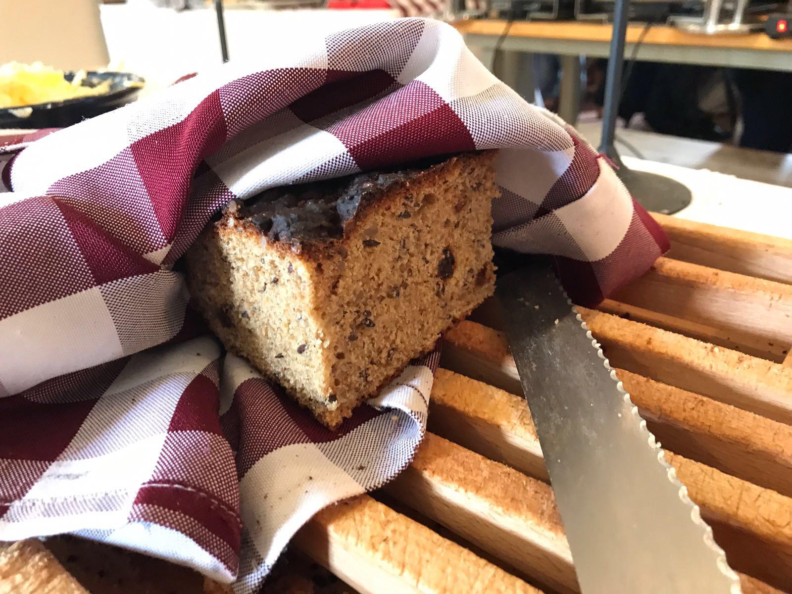 Nybakat bröd Staberg