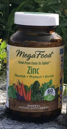 Zinktabletter Mega Food naturlig zinktillskott