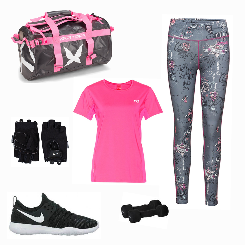 Rosa träningskläder nike