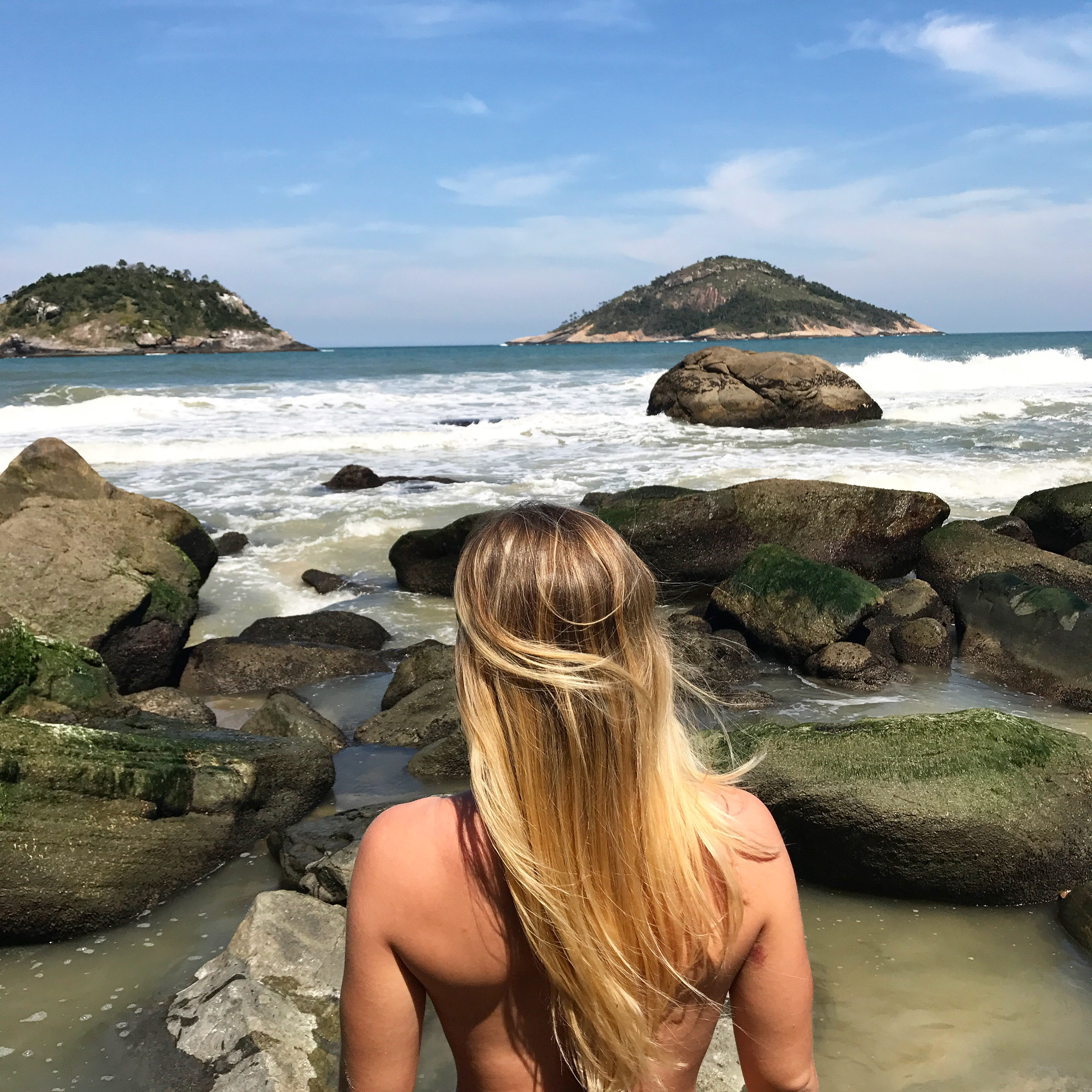 Nakenstrand Rio de Janeiro, naken strand Rio