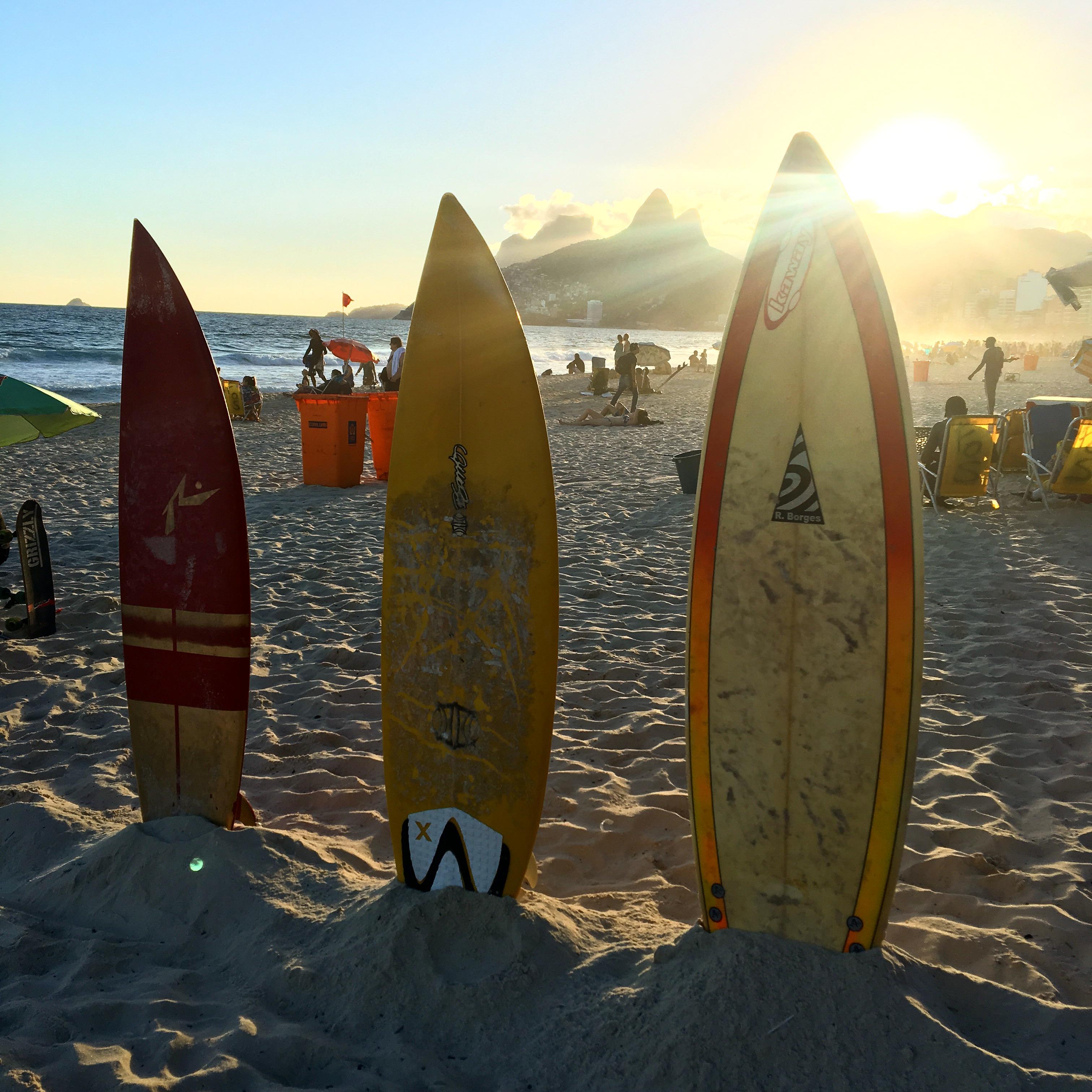 Ipanema stranden strand i Rio stränder i Rio