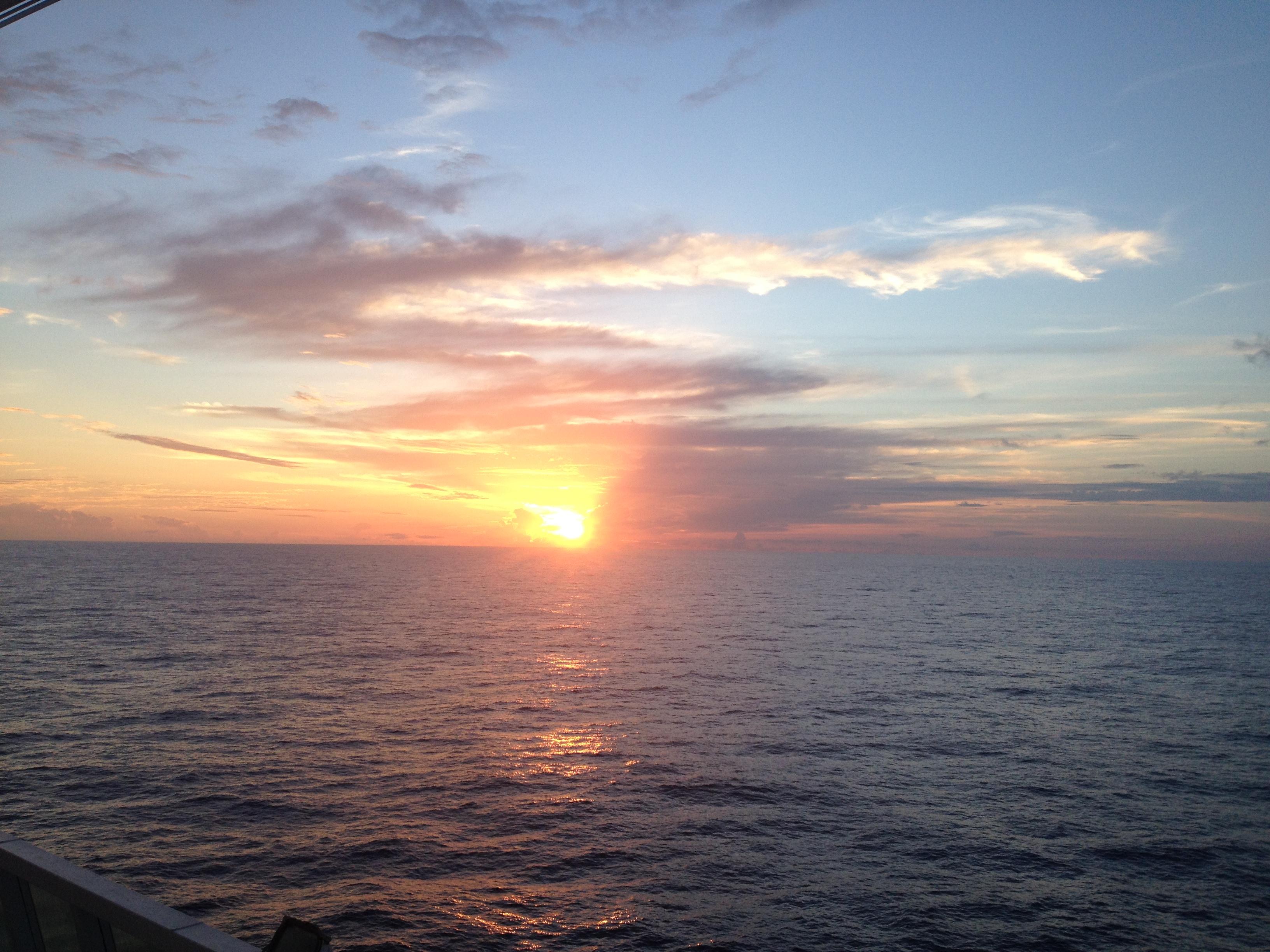 Solnedgång kryssning till Brasilien Rio de Janeiro
