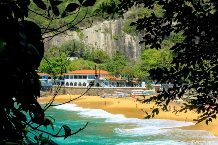 Praia Vermelha barnvänlig strand i Rio