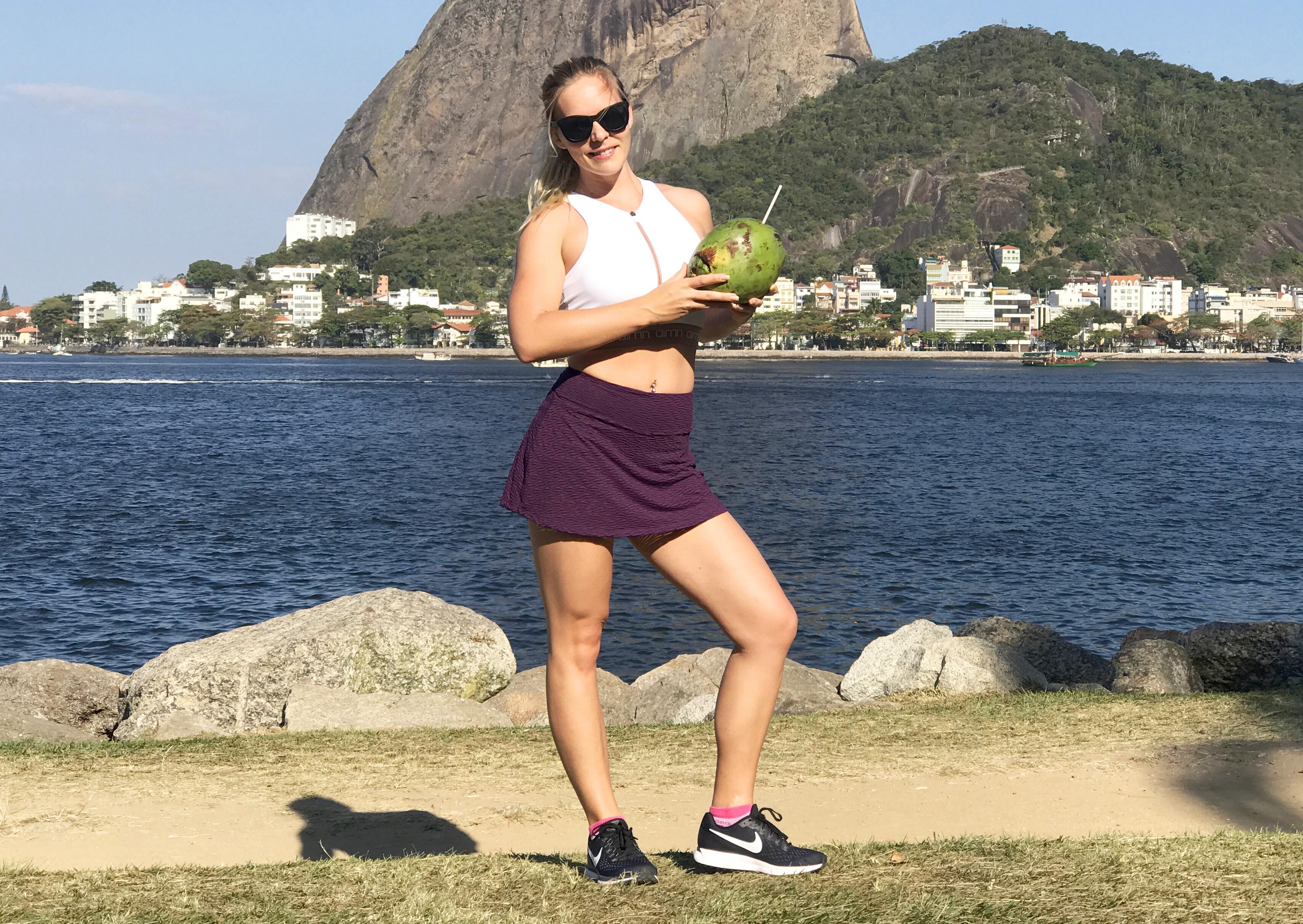 Kokosvatten elektrolyter vätskebrist träning