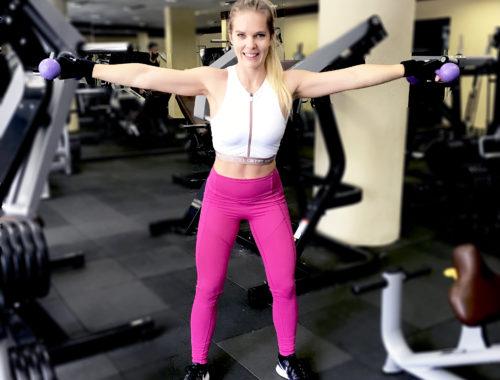 axlar övningar gym