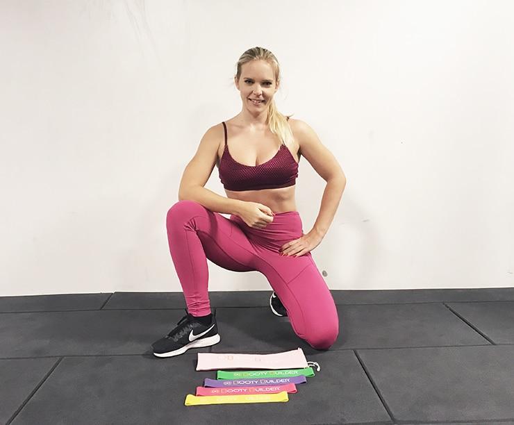 Gummiband träning minibands träningsgummiband träna med gummiband
