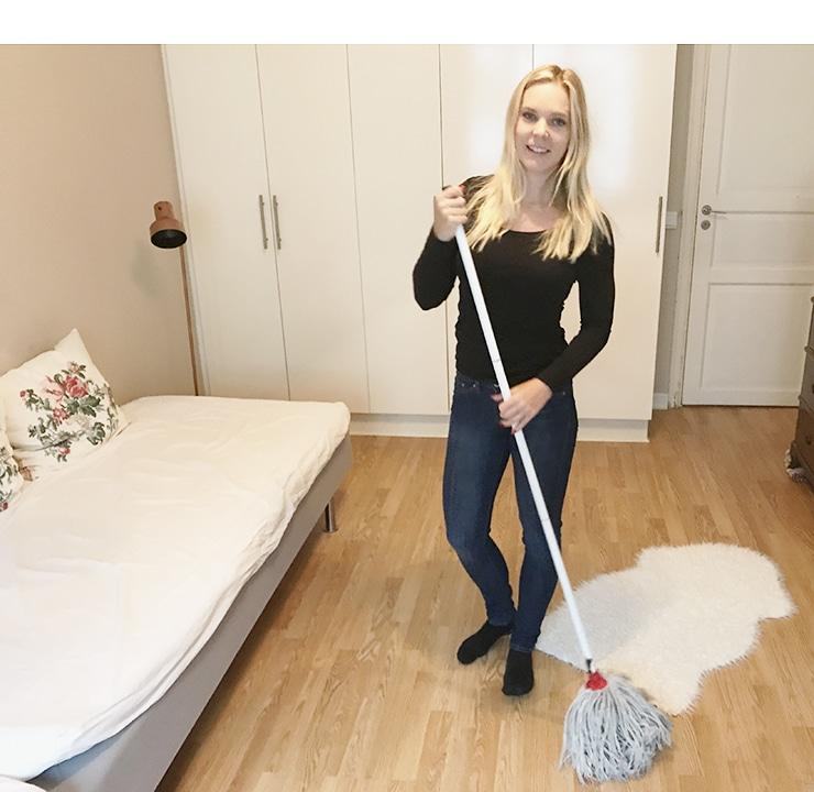 Hur många kalorier bränner man på att städa dammsuga torka golvenstädning