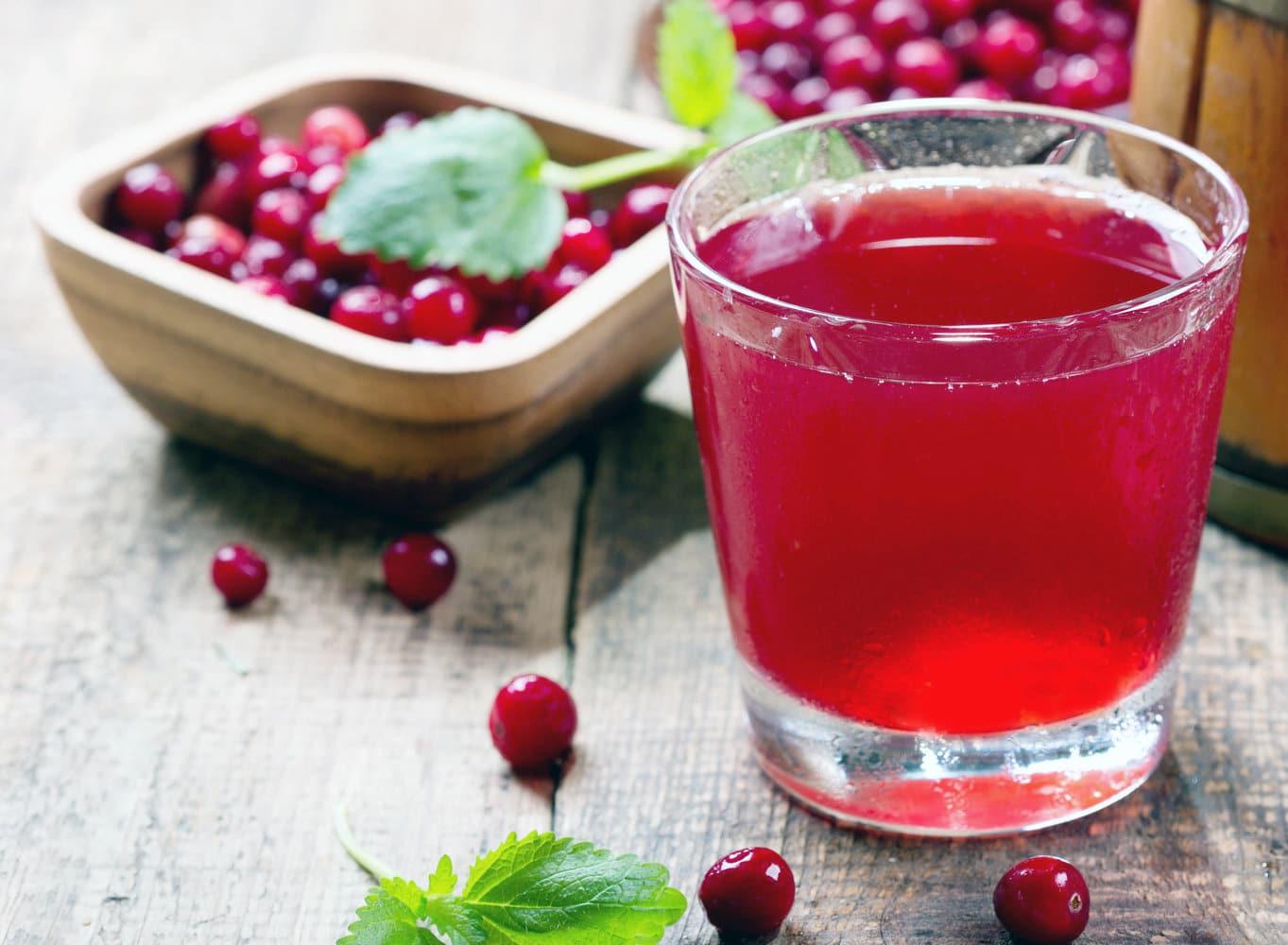 Förebygga urinvägsinfektion med tranbärsjuice