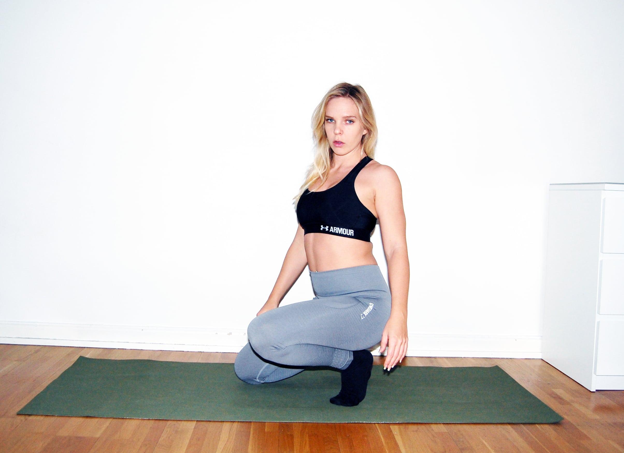 Ekologisk yogamatta i naturgummi jade harmony yogamatta