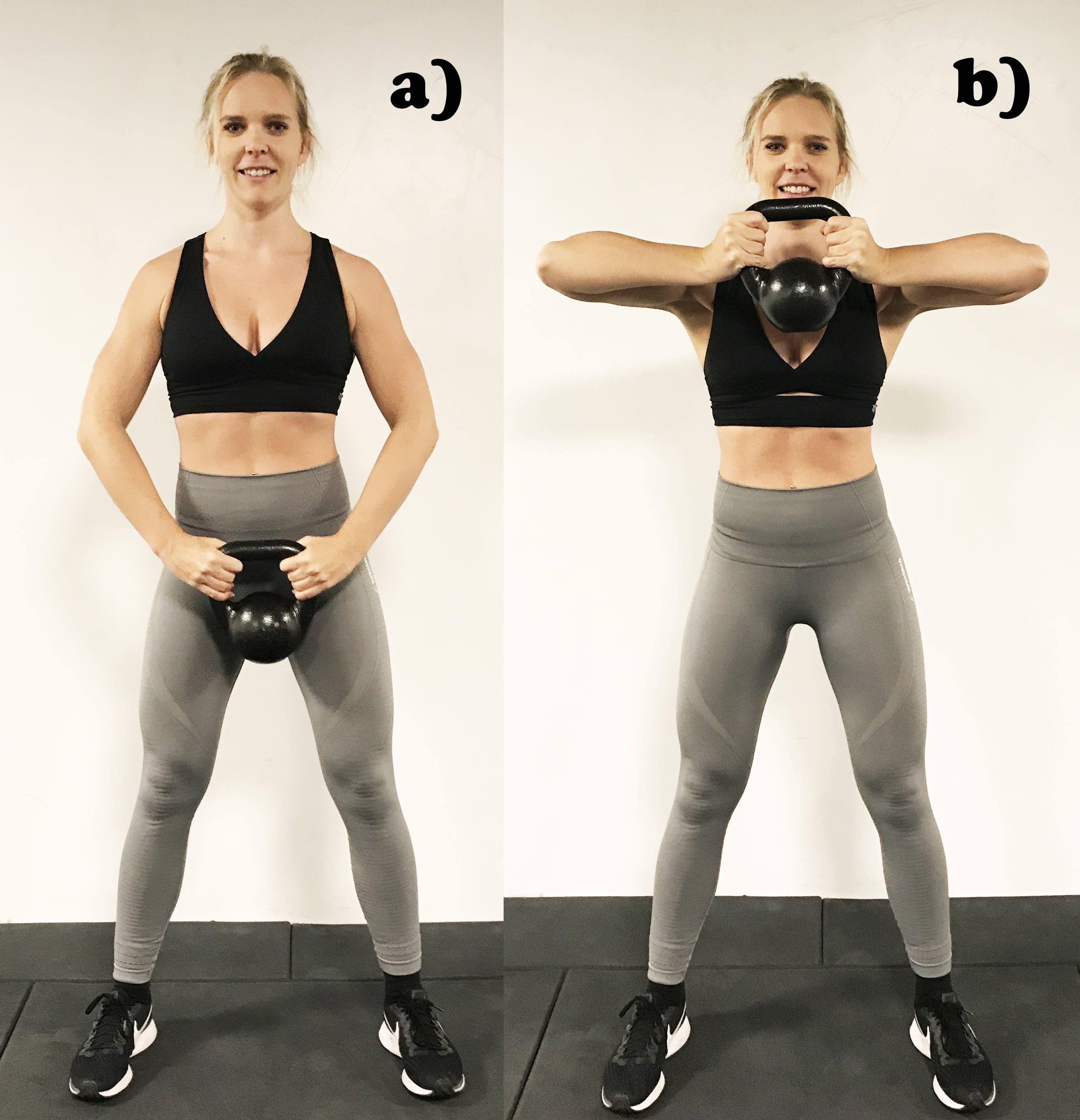 Kettlebell pull ups övningar med kettlebells