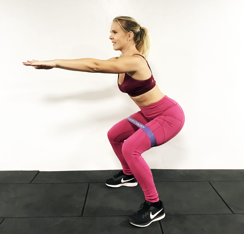 Träna med minibands öka motivationen träna hemma