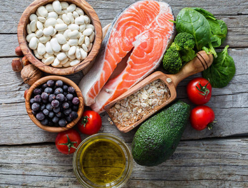 Antiinflammatorisk kost mat mot inflammationer