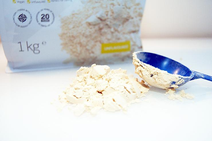 Ärtproteinpulver, ärtprotein, vegetariskt protein och veganskt protein
