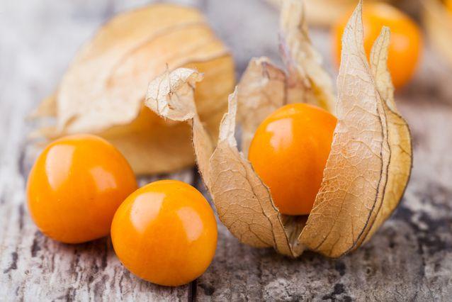 Physalis nyttigt kcal c vitamin näringsinnehåll