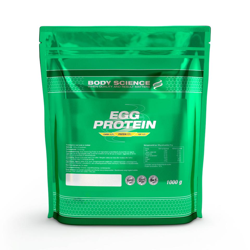 Äggprotein proteinpulver av ägg