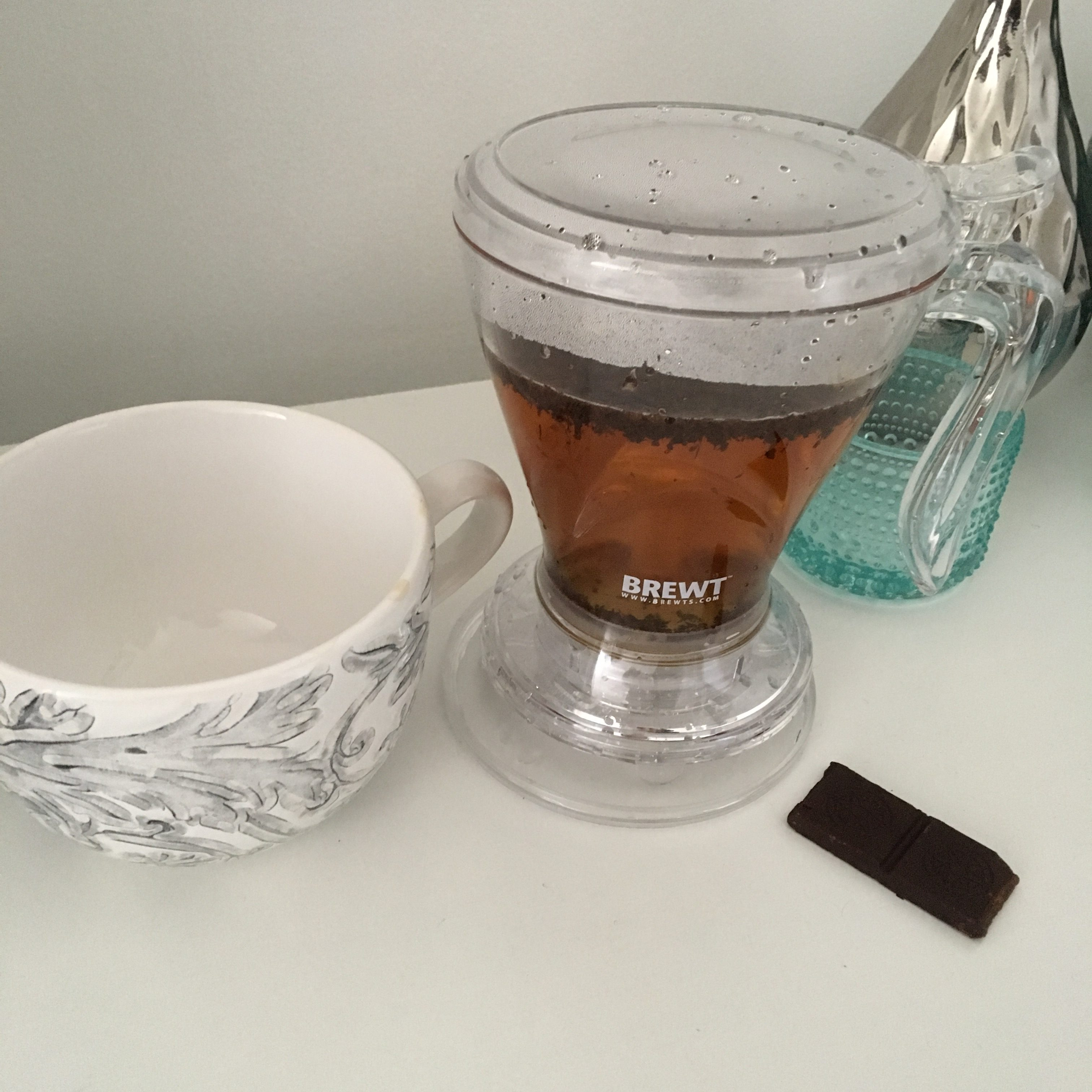 Tea infuser dispenser