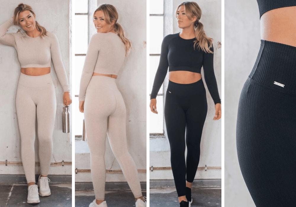Seamless träningskläder träningstights