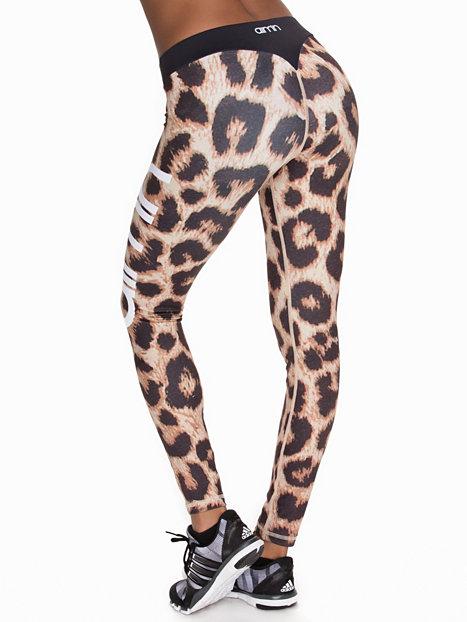 Leopard tights från Aim'n