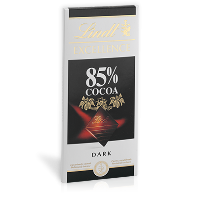 Lindt excellence 85 procentig choklad