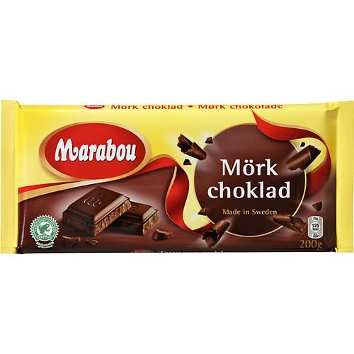 mörk choklad näringsinnehåll