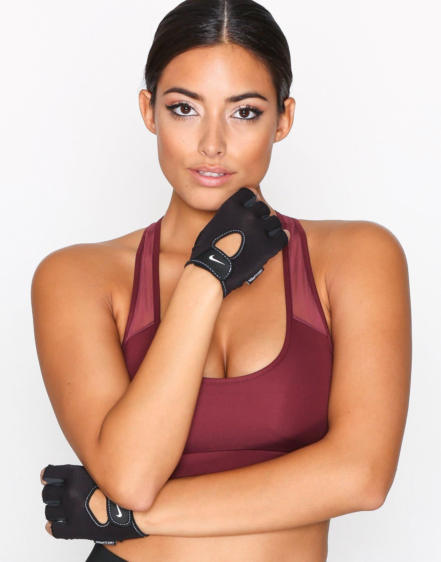 Träningshandskar Nike gymhandskar svarta