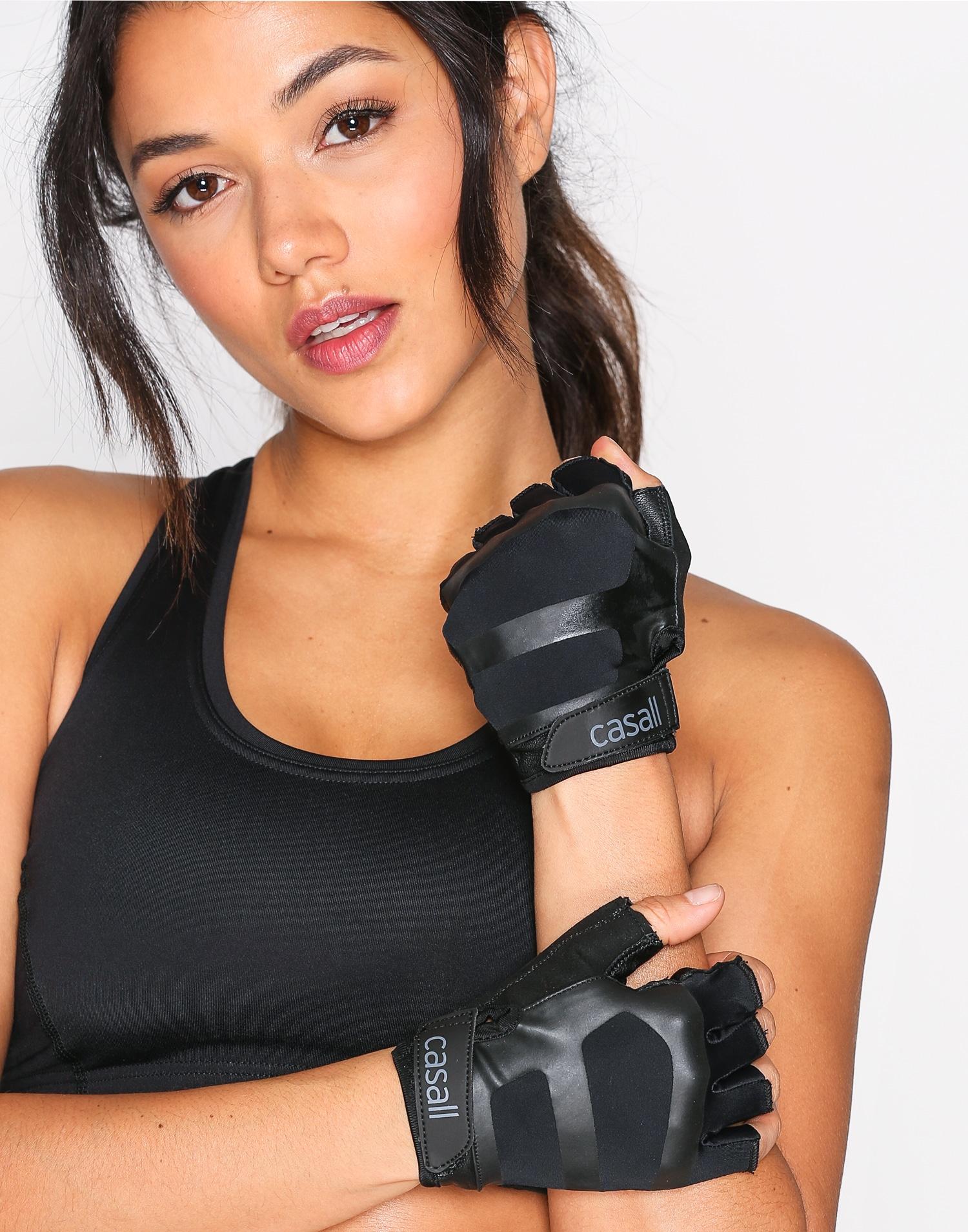 Casall gymhandskar dam svarta