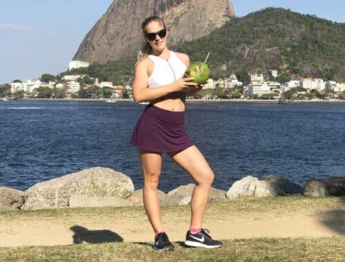 Träningskjol även kallad löparkjol, skort, kjol för träning