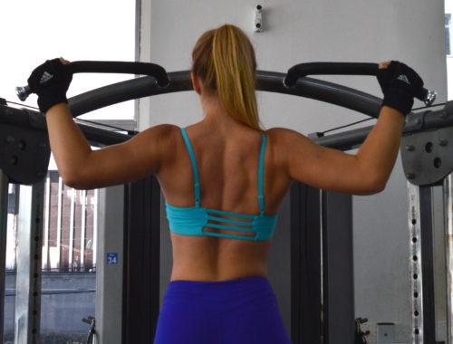 Teknik för chins pull-ups