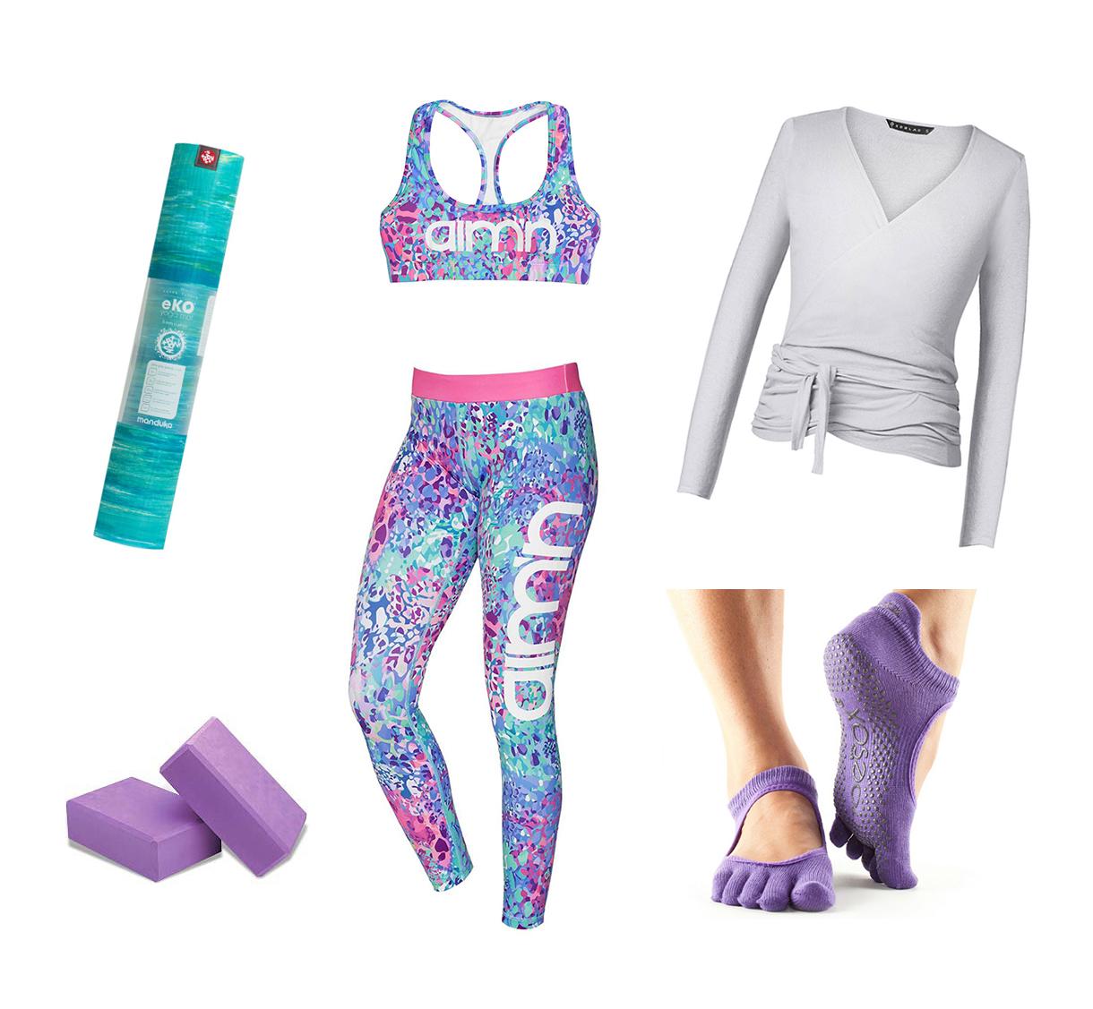 Yogakläder för yogatrender 2017