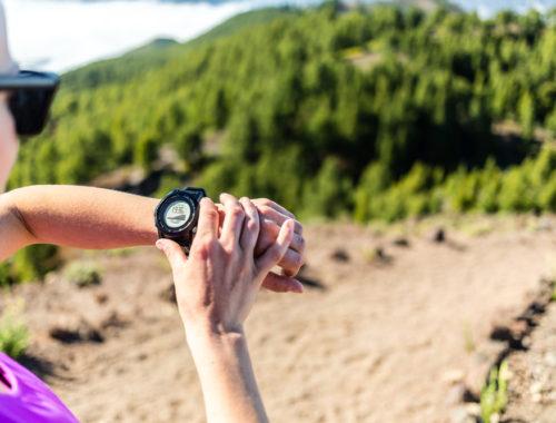 Pulsklocka vid träning och löpning