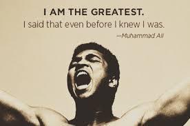 Muhammad Ali om självförtroende citat