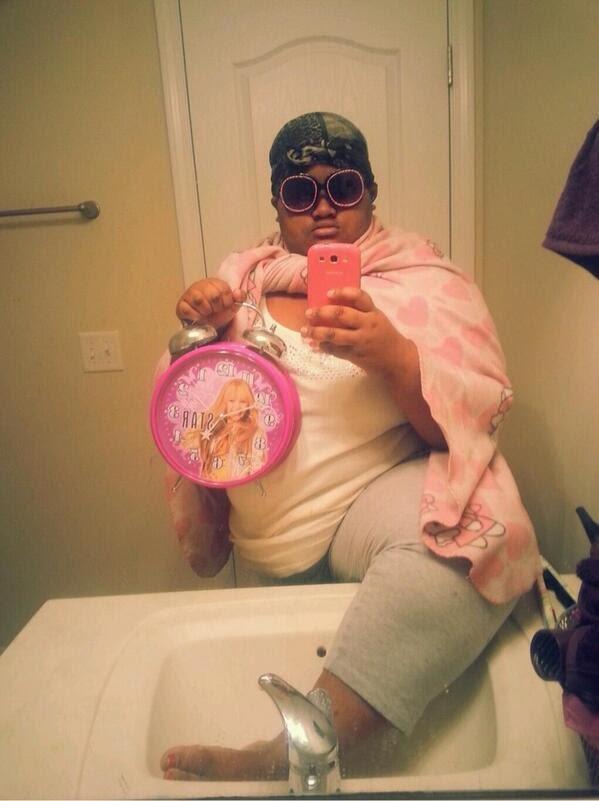 Selfie queen king selfies på gymmet