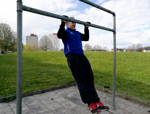 Calisthenics för nybörjare lätta övningar träna med kroppsvikten som motstånd