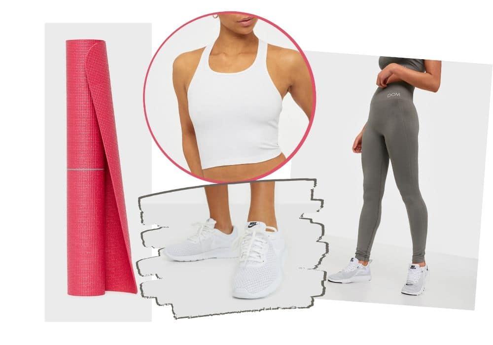 Yoga outfit träningskläder