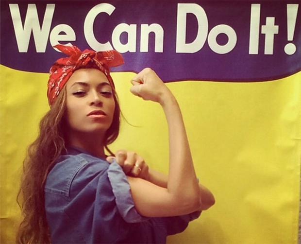 Vad är feminism och vad är en feminist, Beyonce feminist we can do it