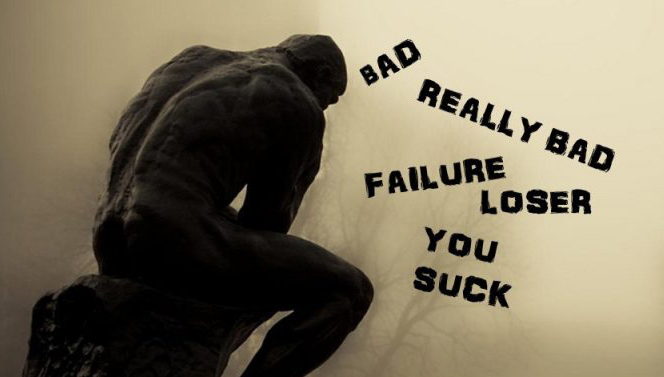 Självhat dåligt självförtroende