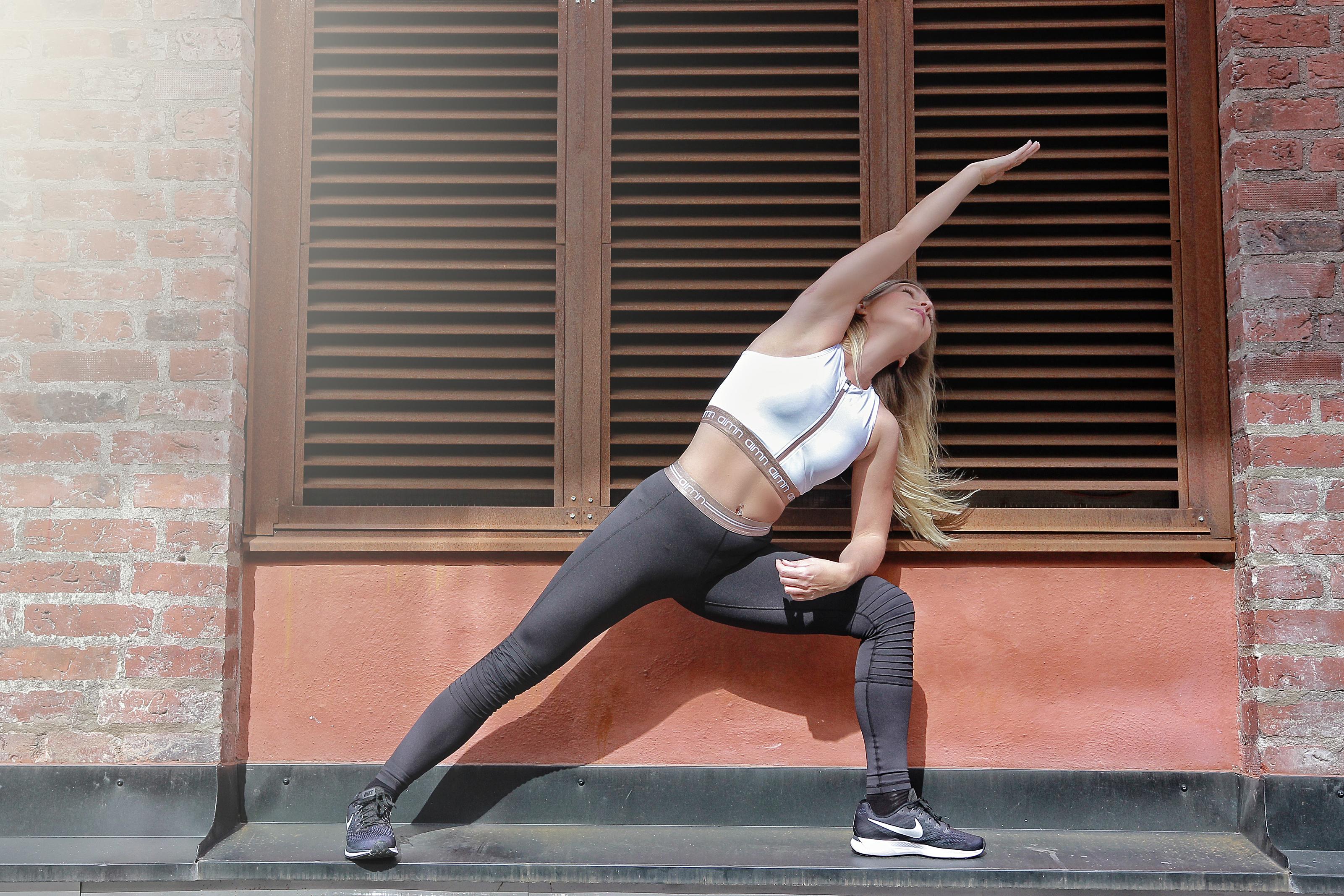 Aimin träningskläder nya