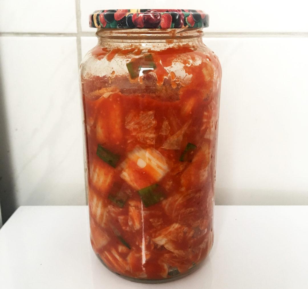 Kimchi recept veganskt - göra egen kimchi