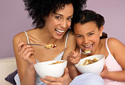 Ät bra mat mamma och barn